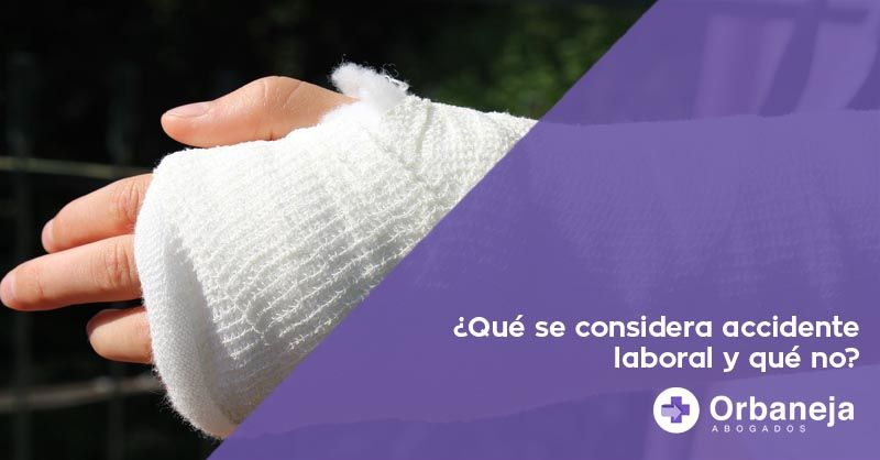Qué se considera accidente laboral y qué no